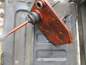 1963 Allis Chalmers D19 Gas Tractor Transmission Shift Shifting Forks Tower