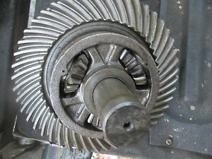 1959 Case 600 Gas Tractor Rear End Differential Ring Gear Assembly Free Ship