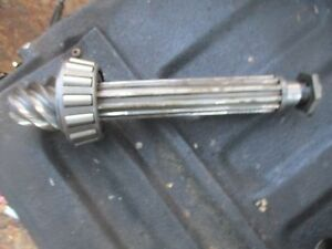 1959 Case 600 Gas Tractor Differential Pinion Shaft Free Shipping