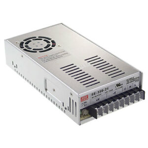Mean Well Se 350 27 350 Watt Enclosed Switching Power Supply