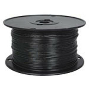 18 Awg Black Stranded Tinned copper Hook up Wire 500 Feet