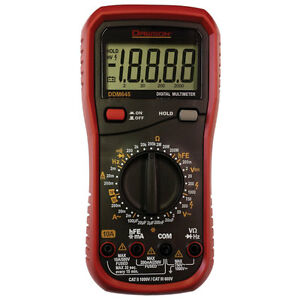 Dawson Tools Ddm645 20000 Count Digital Multimeter