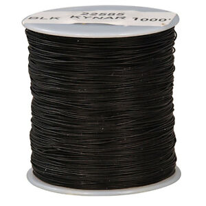 Wire Wrap Kynar Black 1000 Feet 30awg 1000 Foot Rolls