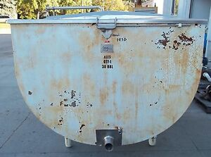 Milkeeper 1000 Gallon Stainless Steel Flat Top Bulk Milk Tank 45177