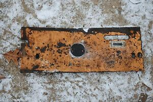 Throttle Lever Cover part D121826 Case 1845b Skid Steer