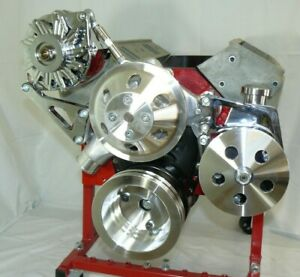 Sbc Chevy Front Engine Kit Complete Set Up 327 305 350 383 400