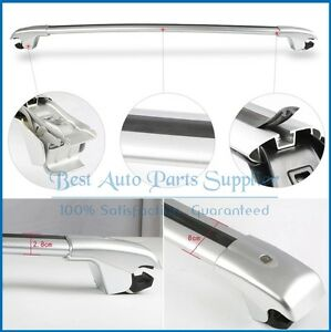 For Jeep Cherokee 2014 2019 Top Roof Rack Luggage Aluminum Rail Cross Bar New