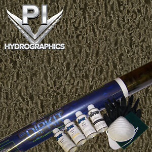 Hydrographic Kit Hydrodipping Water Transfer Hydro Dip Burl Wood Bw 820