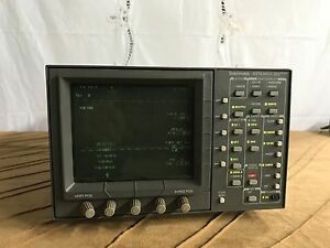 Leader Tektronix Wfm 601a Serial Component Monitor Wfm601a