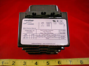 Marathon 1403402 Power Distribution Block 600v 175a Cu 135a Al 3 pole New Nnb