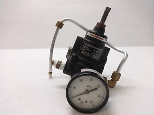 Bellfram Corp Compressed Air Pressure Regulator 241 960 065 250 Psi Max 0 60