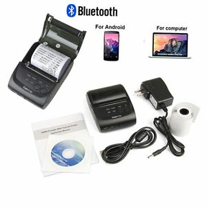 Bluetooth 4 0 Mini Portable Wireless Receipt Thermal Printer For Android 58mm Bp