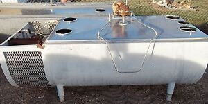 250 Gallon Milkeeper Flat Top Bulk Milk Cooling Tank