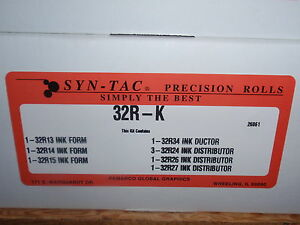 Ryobi Rollers Syn tac 3302 3304h 32r k 9 Soft Ink Roller Kit Best Price In Usa