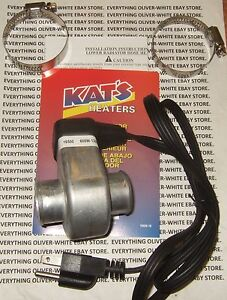 Lower Coolant Radiator Hose Engine Block Heater 1 1 4 Kat s Brand 600w 110v