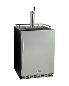 Kegco Hk38bsu 1 Undercounter Kegerator With X clusive Premium Direct Draw Kit