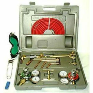 Welder Tool Case Precision Welding Cutting Kit Oxygen Torch Acetylene