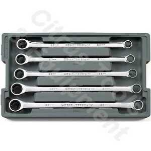 Gearwrench 85987 5 Pc Metric Xl Gearbox Double Box Ratcheting Wrench Set