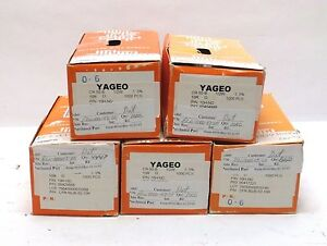 Lot Of 5000 Yageo Cfr 50jb 52 10r 10 Ohm Resistors 10h nd