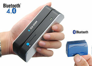Bluetooth Wireless Magnetic Credit Card Reader Writer Encoder Msrx6bt dx5 605