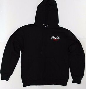 Coca-Cola Zero Pullover Hoodie with Pocket - BRAND NEW