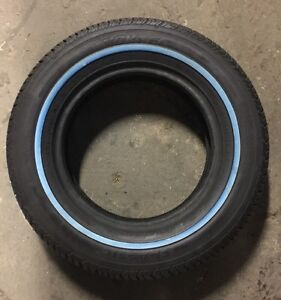 155 80 13 Tornel Classic Radial Lowrider White Wall Individual Tire