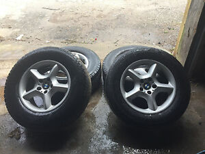 00 06 Bmw X5 E53 17 Inch Alloy Rims Wheels With Tires Oem Original Factory Set