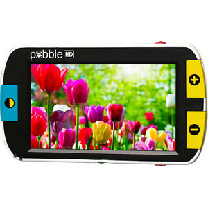 Pebble Hd 4 3 Inch Color Portable Video Magnifier Low Vision Leagally Blind
