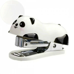 Nakimo Cute Panda Mini Desktop Stapler Home Stapler With 1000 Staples