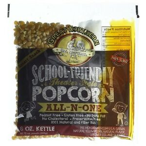 Great Northern Popcorn School Friendly 8 Ounce Popcorn Portion Packs Case Of 24