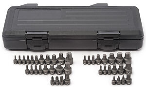 Gearwrench 81602 41 Pc Master Ratcheting Wrench Insert Bit Set