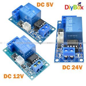 Dc 5v 12v 24v 1 channel Latching Relay Module With Touch Bistable Switch Mcu Diy