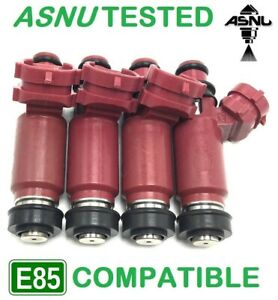 4 X 1000cc Fuel Injectors For Impreza Wrx And Sti Forester Denso E85 Asnu