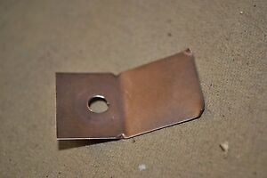 66 67 68 69 Fairlane Radio Supression Hood Rub Strap Show Quality Orig Ford