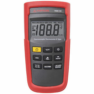 Amprobe Tmd 50 K Type Thermocouple Thermometer Free Expedited Shipping