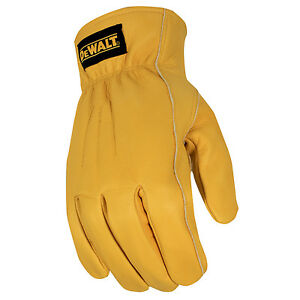 Dewalt Premium Thermal Lined Leather Glove Medium pack Of 6 Pairs
