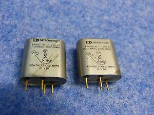 Lot Of 2 Datron es Relays 69aao ai u 2k 2 3 5 Madc 2000 Ohms 100 Mamps 10 Vdc