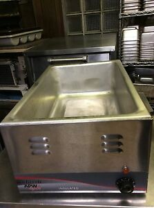 Counter Top Food Warmer 115v Electric Apw Wyatt Perfect Condition A