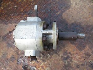 1953 Massey Harris 33 Gas Farm Tractor Front Hydraulic Pump Free Shipping