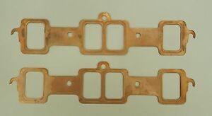 Oldsmobile Olds 350 400 403 455 Thornton Copper Exhaust Manifold Gaskets Th Mg