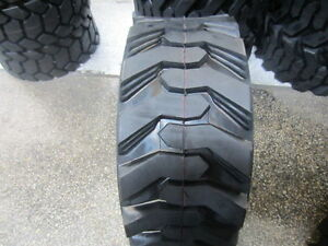 4 New 15x19 5 G 14ply Skid Steer Tires For Bobcat Others 15 19 5 15195 sks1
