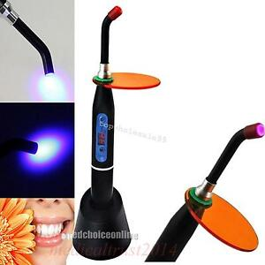 Dental Wireless Cordless Led Curing Light Lamp 1500mw guide Tip bulb Selecting