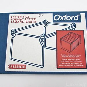 Oxford Hanging File Folder Frames Letter Size Pack Of 2 21 27