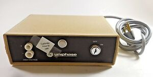 Uniphase 1201 1 Laser Power Supply 115v 0 12 Amp missing Key