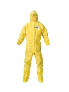 Kimberly clark Professional 12 Pk Of A70 00686 Yellow 3xl Protective Coveralls