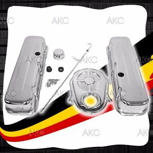 Smooth Steel Tall Engine Dress Up Kit For 65 90 Chevy Big Block 396 427 454 502