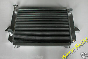 Aluminum Radiator For Nissan Patrol Station Wagon W160 Hardtop K160 2 8 79 88