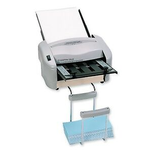 Martin Yale P7200 Rapidfold Auto Feed Desktop Folder Grey For Use With 8 1 2