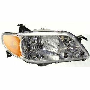 New Headlight passenger Side For Mazda Protege Ma2503119 2001 To 2003