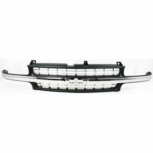 New Grille For Chevrolet Silverado 1500 Gm1200424 1999 To 2006
